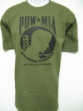POW MIA T-SHIRT/ MILITARY T-SHIRT/ ARMY/ NAVY/ MARINES/ MOTORCYCLE T-SHIRT/  NEW