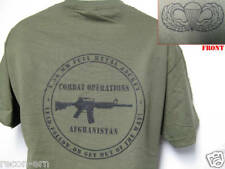 AIRBORNE T-SHIRT/ AFGHANISTAN COMBAT OPS