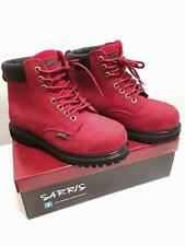Ankle High Lace Up Safety Boots SAFETY WORK LACE UP STEEL TOE CAP