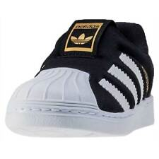 adidas Superstar 360 I Toddler Trainers Black White New Shoes