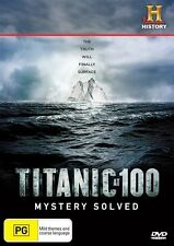Titanic At 100 - Mystery Solved (DVD, 2012) BRAND NEW!!