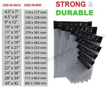 100 Grey Mailing Bags Strong Poly Postal Postage Post Mail Self Seal All Sizes