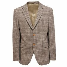 3304Q giacca uomo BORDONI lana marrone/beige jacket men