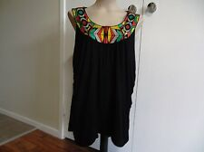 ROCKMANS, LADIES XLARGE, SINGLET STYLE TOP, CLUB OR CASUAL WEAR