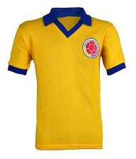 Colombia Retro Home Jersey Soccer Football Shirt - MR Sports