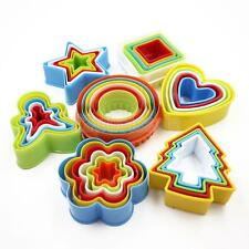 Colorful Cookies Fondant Cake Cutter Mould Pastry Sugarcraft Decorating Tool New