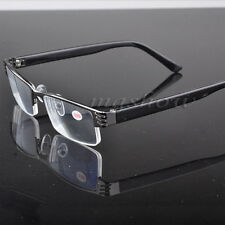 Unisex Reading Glasses Coating Metal Half-frame Reading Glasses +1.0 to +4.0