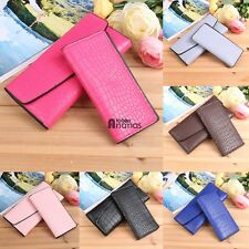 New Fashion Women Alligator Print Wallet and Card Holder Set 2016 AN18