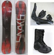 """NEW """"SNAKE"""" SNOWBOARD, BINDINGS, BOOTS PACKAGE - 141cm, 144cm"""