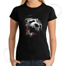 Wild Panda Attack Juniors T-shirt Killer Bloody Wild bear Tee - 1448C