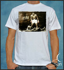 T-SHIRT MUHAMMAD ALI BOXING BOXING IMPOSSIBLE IS NOTHING LEGEND SIL 000000