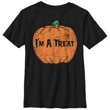 Lost Gods Halloween Pumpkin Treat Boys Graphic T Shirt
