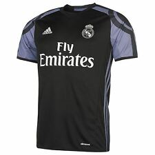 Adidas Real Madrid Third Jersey 2016 2017 Mens Black/Purple Football Soccer Top