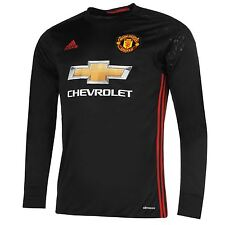 Adidas Manchester United Home Goalkeeper Jersey 2016 2017 Mens Football Soccer