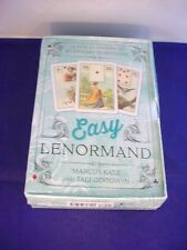 Easy Lenormand Oracle Deck + Book Set Sealed Tarot Card Related Divination