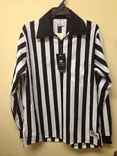 CLIFF KEEN ATHLETICS FOOTBALL UMPIRE LONG SLEEVE WITH 1/4 ZIP AND POCKET