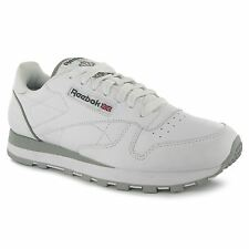 Reebok Classic Leather Mens Shoes Trainers White Sneakers Sports Footwear