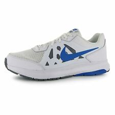 Nike Dart 11 Running Shoes Mens White/Blue Fitness Trainers Sneakers