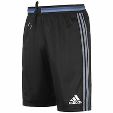 Adidas Real Madrid Training Shorts Mens Black/Purple Football Soccer
