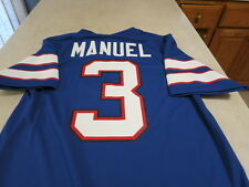 BUFFALO BILLS EJ MANUEL Licensed NFL Football Home Jersey Small  FREE s/h