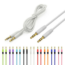 Universal Gold-Plated 3.5MM Male To Male Audio Cable AUX Cord For Car iPod Lot