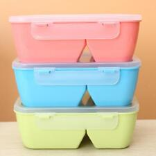 Antirust Plastic Microwave Separate Lunch Box Bento Food Container