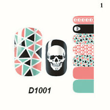 14 Styles Full Self Nail Wraps Stickers Adhesive Polish Foils  Art Decals Decor