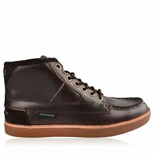 Deakins Mens Gents Trigger Mid Boots Laces Fastened Shoes Leather Footwear