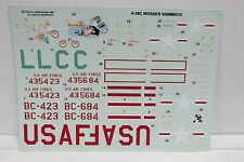 *DECAL SHEET* Revell-Monogram A/B-26C INVADER Kit #5508 1/48 scale