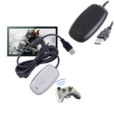 PC Wireless Gaming Controller USB Receiver Adapter For XBOX 360 New