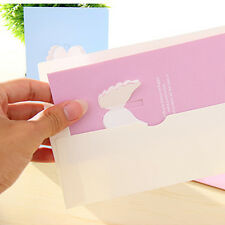 5Pcs Creative Postcard Post Greeting Cards Happy Birthday Gifts With Envelope