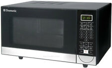 Dometic DCMW11B.F 1.1 Cubic Foot 1000 Watt Black RV Countertop Microwave Oven