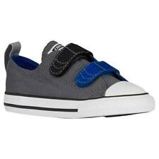 CONVERSE ALL STAR Boy's/Toddler's 750037F Gray/Blue Casual Sneakers Shoe NEW