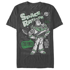 Toy Story Buzz Lightyear the Galaxy Needs a Hero Mens Graphic T Shirt