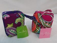 VERA BRADLEY 8 DAY TRAVEL MEDICATION CASE HEATHER AND PINK SWIRLS  NWT