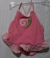 Gymboree Mini Blooms Snail One Piece Swimsuit Size18-24 or 6-12 Month Choice NWT