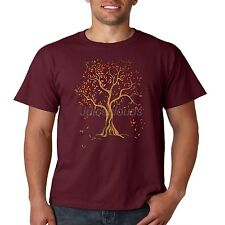 Fall T Shirt Autumn Leaves Leaf Color Change Holiday Season Mens