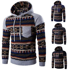 Cool Men's Winter Slim Hoodie Warm Hooded Sweatshirt Coat Jacket Outwear Sweater