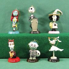 6 x Disney Christmas Tree Decorations - Nightmare Before Christmas Characters