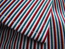 Thomas Pink NWT Slim Fit White Red Green Maikel Stripe French Cuff Dress Shirt