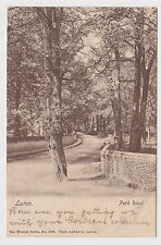 SUPER OLD CARD OF PARK ROAD LUTON 1903 WRENCH BEDS