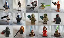 *! Discontinued New Lego Star Wars Castle Minifigs Weapons !! Choose Your Own !!