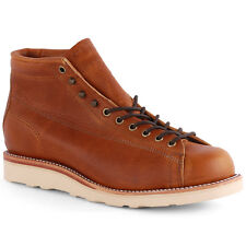 Chippewa 5-inch Lace-to-toe Field Mens Chukka Boots Tan New Shoes