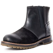 Caterpillar Staten Mens Chelsea Boots Black New Shoes