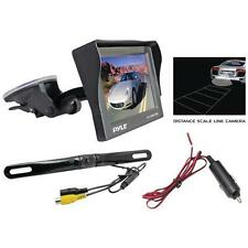 Pyle Plcm4700 4.7'' Window-Suction-Mount Tft Lcd Monitor With Die-Cast License