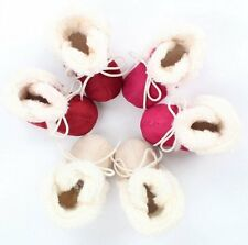 New Baby Boy Girl Soft Sole Booties Snow Boots Infant Toddler Newborn Crib Shoes
