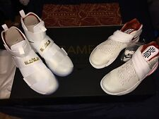 """NIKE BASKETBALL """"FOUR WINS"""" GAME 6 Lebron x Kyrie championship pack"""