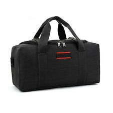 Large 22 Inch Men Canvas Travel Bag Tote Luggage Duffle Bag Weekend Overnight