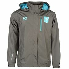 Sondico Mens Gents FC Twente Match Rain Jacket Football Zipped Overcoat Clothing