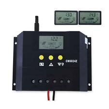 Hot Timer LCD 60A 30A 12V/24V Solar Panel Battery Charge Controller Regulator AC